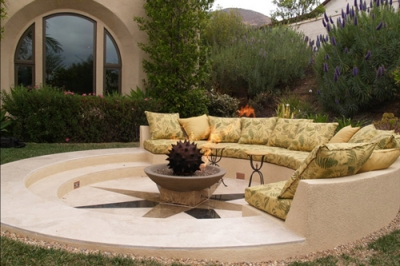Outdoor firepit designs