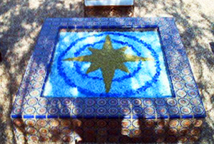 Custom star fireglass designs
